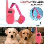 Оригинал Водонепроницаемы Перезаряжаемый LCD 100 Уровень Ударная вибрация Дистанционный 1 Собака Тренировочный ошейник