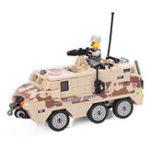 Оригинал KAZIBuildingBlockWarChariot# 84026 Обучающие игрушки для детей с изображением 180Pcs