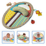 Оригинал Младенец младенца живота время музыкальный коврик водонепроницаемый младенческая кровать Дети развивающие игрушки