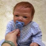 """Оригинал Lifelike 20 """" Reborn Baby Handmade Soft Винил Новорожденный Кукла Сопровождение Детские игрушки"""