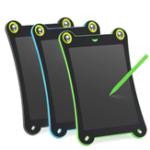 Оригинал 8,5-дюймовый портативный LCD Написание планшетных чертежей Широкая детская живопись Граффити Школа Канцелярские товары