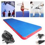 Оригинал 275.6×78.7×7.8дюймовНадувнаяподушкабезопасностина воздушной подушке Главная Tumbling Mat Gymnastics Training Track Pad