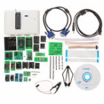 Оригинал RT809H EMMC-Nand Flash Extremely Fast Universal Programmer Набор Программист + адаптеры 29шт с кабелями
