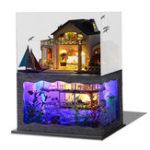 Оригинал DIY Гавайские виллы Деревянные миниатюрные кукольные домики Набор Творческий подарок на день рождения Рождество