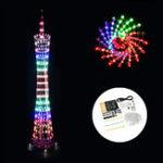 Оригинал DIY WiFi (версия APP) Bluetooth Цветная кантонская башня LED Освещение Cube Музыкальный спектр Электронный Набор