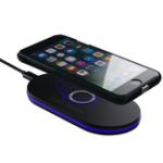 Оригинал 10W Qi Wireless LED Настольное Быстрое Зарядное устройство для iPhone 8 X Plus Samsung S8