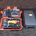 Оригинал На открытом воздухе SOS Аварийное оборудование Инструмент Набор Первая помощь Коробка Принадлежности для выживания