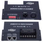 Оригинал DC12-24V 20A 4 канала DMX512 LED Декодерный регулятор яркости для RGBW LED Газовый свет