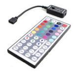 Оригинал DC12V 6A 72W Инфракрасный LED Контроллер с 44 ключами Дистанционное Управление для RGB Strip Light