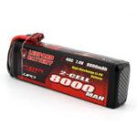 Оригинал LEOPARD Power 7.4V 8000mAh 40C 2S TRX Plug Lipo Батарея для TRAXXAS SUMMIT RC Авто