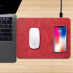 Оригинал Bakeey Qi Беспроводное зарядное устройство Мышь Pad для iPhone X 8 8Plus Samsung S8 Plus Note 8