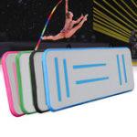 Оригинал 118×19.6×3.9inchНадувнойвоздушныйследTumblingFloor Gymnastics Mat Практика Pad Pad