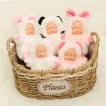 Оригинал Lifelike новорожденный винил Reborn Gift Baby Dolls Реалистичный ручной куклы для малышей Full Body Dolls
