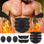 Оригинал Стимулятор брюшной полости Мышцы EMS Обучение Электрическая фигура тела Body Abs