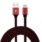 Оригинал Bakeey 2.4A Micro USB плетеный Быстрый зарядный кабель 1 м для Xiaomi Redmi Примечание 4 4x Samsung S7 Edge S6