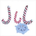 Оригинал YANI Christmas Pet Собака Chew Toy Cotton Веревка Ball Puppy Собака Зубной Уход за зубами Уход за обувью Инструмент