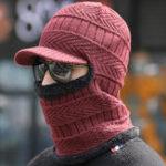 Оригинал Мужская Женское Толстое вязание Череп Beanie Cap
