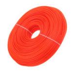 Оригинал 3mmx100m Nylon Триммер Шнур для шнура для струйных принтеров Провод Щетка Cutter Щеткаcutter