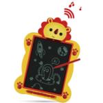 Оригинал 8.5inch LCD Music Singing Writing Tablet Перезаряжаемый большой объем детей, рисующий граффити