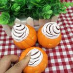 Оригинал 10 см Сжатие Рельеф Стресс Растяжка Squishy Pumpkin Мороженое Медленная Восходящая Игрушка Дети