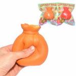 Оригинал Areedy Squishy Fortune Money Lucky Сумка Новогодний подарок 9 см Медленный рост Оригинальная упаковочная игрушка