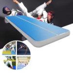 Оригинал 196.8×39.3×7.8дюймовСпортзалAirPadFloor Pad Home Sport Спортзалnastics Tumbling Надувной роликовый коврик
