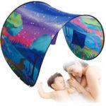 Оригинал 32.28x86.61inchДетиНаоткрытом воздухе Wonderland Волшебная мечта Мир Палатка Складная Быстрая Pop-up Bed Curta