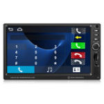 Оригинал 7inch 1080P Touch Double 2 Din Авто MP5 Player Bluetooth FM Радио TF Aux + камера