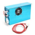 Оригинал AC 220V 80W Лазер Источник питания для CO2 Лазер Машина для резки гравера MYJG-80W