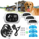 Оригинал Wireless Pet 3 Собака Забор No-Wire Training Система крепления Воротник Перезаряжаемый