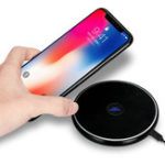 Оригинал Bakeey N10 LED Индикатор Qi Беспроводное зарядное устройство для iPhone X 8 8Plus Samsung S8 Note 8