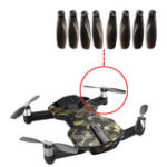 Оригинал 8PCS RC Quacopter запасная часть Оригинальные лопастные пропеллеры для Wingsland S6 Pocket Дрон