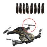 Оригинал 8PCS RC Quacopter запасная часть Оригинальные лопастные пропеллеры для Wingsland S6 Pocket Дрон