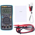 Оригинал BSIDE ZT301 Цифровой True RMS Auto Range 8000 Counts Мультиметр Постоянный ток постоянного тока Сопротивление Емкость Частота Температура Тестер рабочего ц