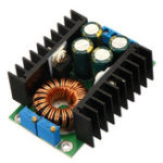 Оригинал DC-DC CC CV Buck Converter Board Step Down Блок питания 7-32V до 0,8-28V 12A