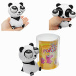 Оригинал Pop Eyes Squishy Stress Reliever Toy Panda Squeeze Animal Funny Gift Toy с розничной торговлей Коробка