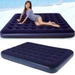 Оригинал НадувныепутешествияАвтоLazyAirBed спальный матрас диван-кушетка Кемпинг Seat Насос Mat
