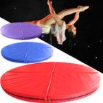 Оригинал 47×3.9inch4FoldingPoleDanceSafety Mat Спортзал Упражнение Фитнес Yoga Floor Pad