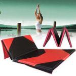 Оригинал 118x47x1.97inchГимнастикаМаттренажерныйзалСкладная панель Yoga Упражнение Tumbling Фитнес Pad