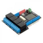 Оригинал Модуль RobotDyn® 4 Relo Shield Uno для Arduino 400 мА 6-12 В для насосов двигателей