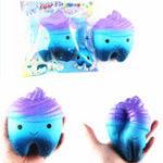 Оригинал Sanqi Elan 11.8cm Звезда Cute Teeth Cake Soft Squishy Super Slow Rising Original Packing Kid Toy