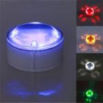 Оригинал 4 LED Солнечная Powered погребенный под землей ландшафтный свет IP68 Водонепроницаемы Газон Лампа для На открытом воздухе Двор