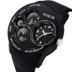 Оригинал NORTH2004ВоенныйLEDСпортЦифровые кварцевые часы