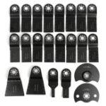 Оригинал 22шт Осциллирующий Multi Инструмент Пильный диск Набор для Multimaster Fein Bosch Makita