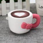 Оригинал Squishy Toy Squishy Brewed Cup Cup Slow Rising Squeeze Scented Soft Коллекция Моделирование Модель Игрушка Цвет Случайный