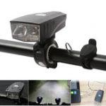 Оригинал XANESSFL0700LM2XPGНемецкаястандартная Smart Shock Датчик Передняя подсветка велосипеда IPX4 с громкоговорителем 120dB Звук ближнего расст