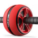 Оригинал Упражнение на физическую нагрузку на колесо для тренировки Ролик ABS Abdominal Спортзал Фитнес Машина