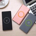 Оригинал Qi Беспроводная связь DIY USB Type-C Порты LED Индикатор мощности Банк Чехол Набор для iPhone X 8 Plus Samsung S8