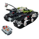 Оригинал 397Pcs Technic Series RC Track Головоломка Jigsaw Пульт дистанционного управления Race Авто Строительные блоки Кирпичная игрушка