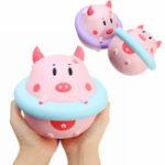 Оригинал YunXin Squishy Jumbo Piggy 16см Свинья Ношение Подъемный Буй Медленный Восходящий Смазливая Коллекция Подарок Декор Игрушка